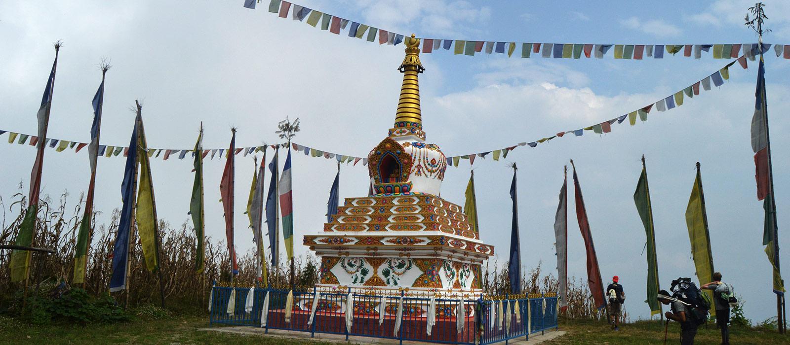 Gosainkunda-trek Stupa