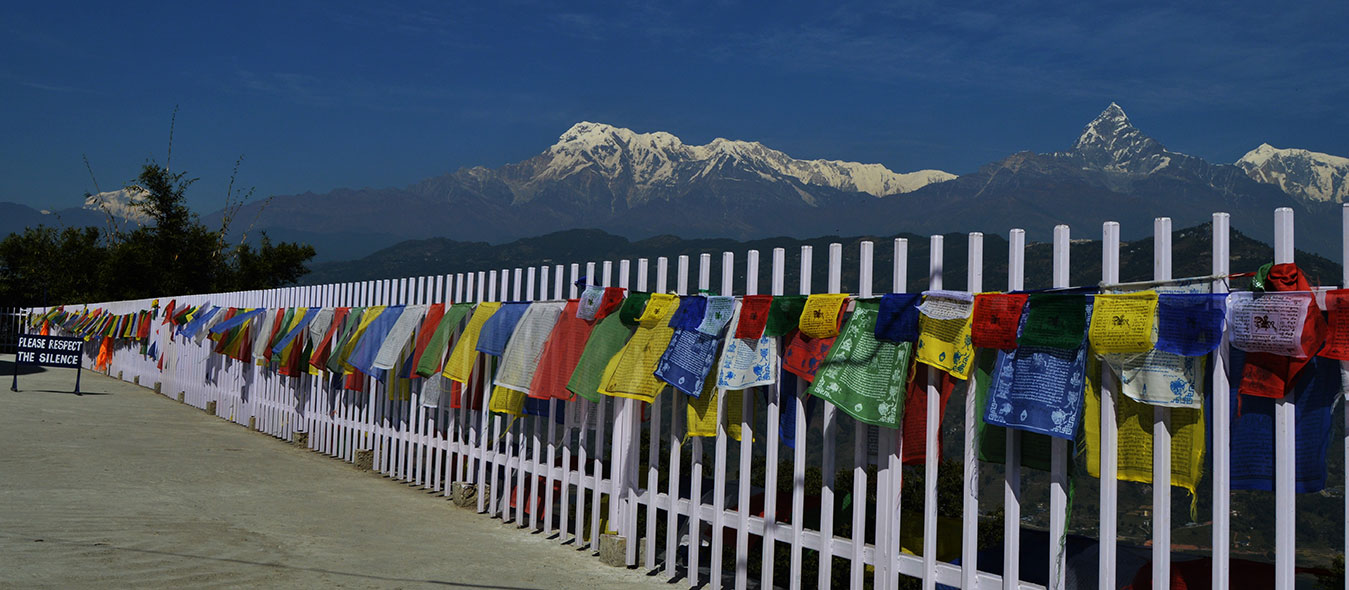 Himalayan View From Pokhara
