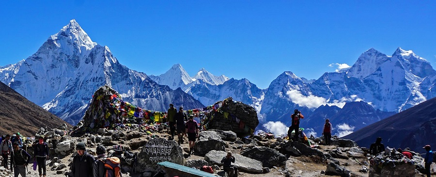 What is required to reach Everest Base Camp