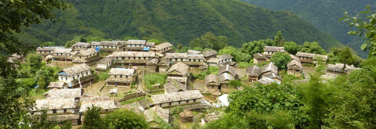 Annapurna Ghale Gaun trekking