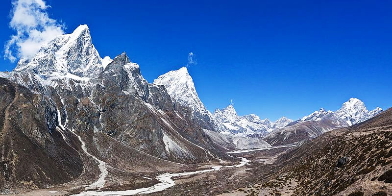Everest base camp trek journey